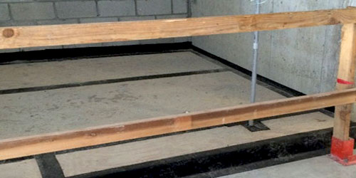 Overhead-Protection Decking